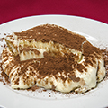 Tiramisu with coffee