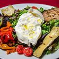 Salade et burrata