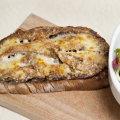 Crostini aux aubergines grillées et parmesan