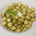 Gnocchi al pesto, like in Genova