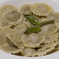 Home-made Piedmontese ravioli and sage butter